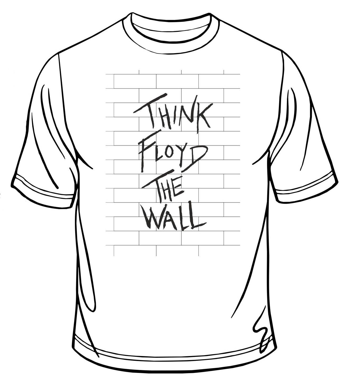 NEW - The Wall T-shirt White