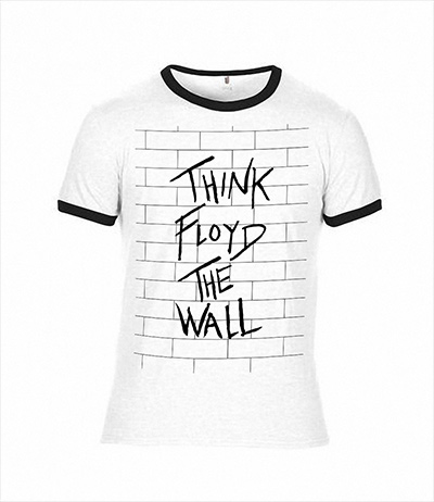 The Wall White & Black T-Shirt