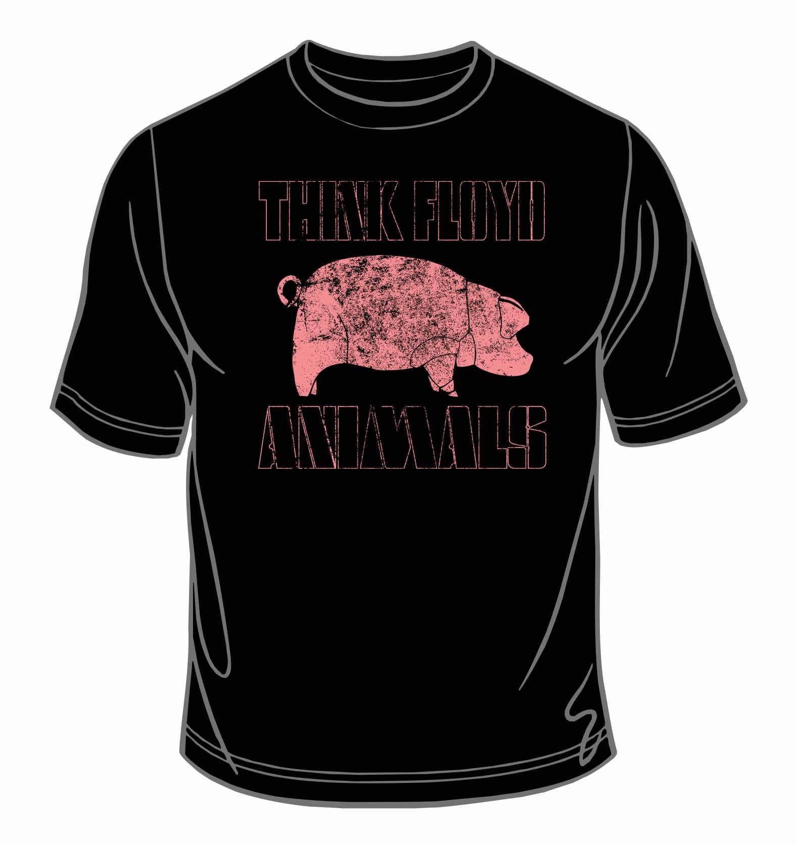 ANIMALS T-shirt  Black
