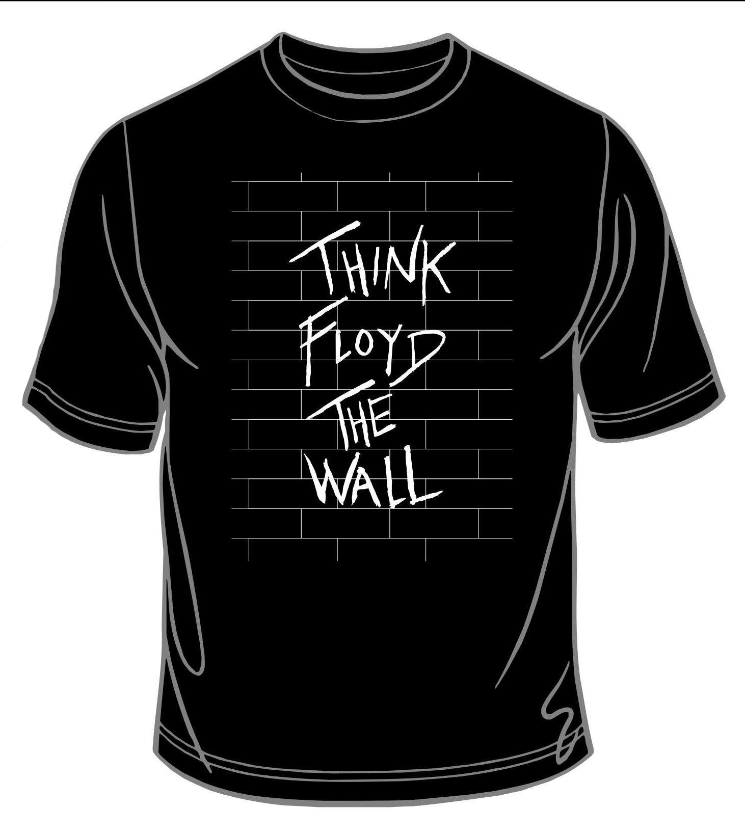 The Wall Black T-shirt